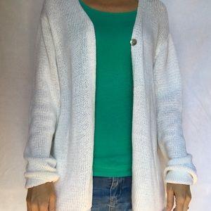 Valerie Stevens Cardigan Women's Large NWT Cotton